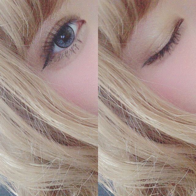 > today's makeup <のBefore画像