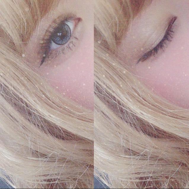 目のアップヾ(*´エ`*)ノ