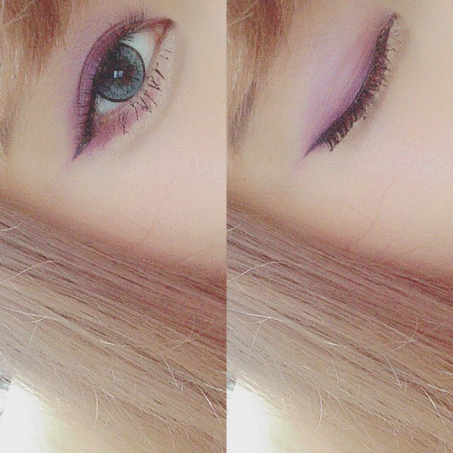 > grape color makeup <のBefore画像