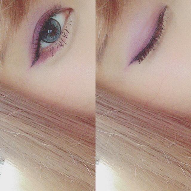 > grape color makeup <のBefore画像
