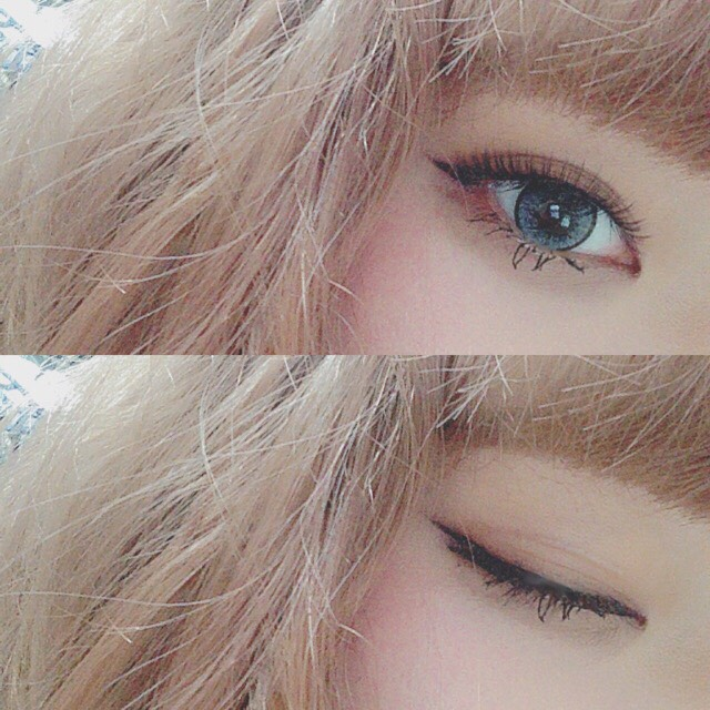> no shadow makeup <のBefore画像