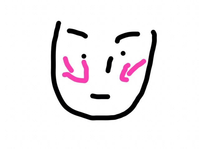 リップはダレノガレの期間限定だったやつ(ピンク系) チークは、斜めに入れる 種類は、韓国のラメ入りで蓋に鏡がついとるやつ(ピンク系)