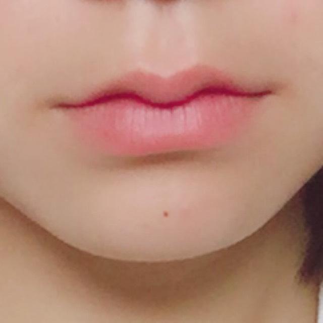 手作り‼︎紫グロスで色気のある唇に‼︎(♡)のBefore画像