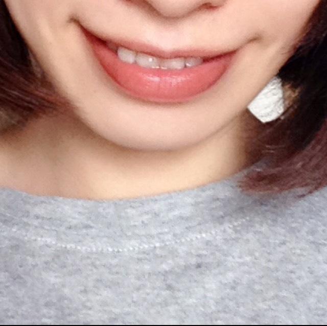 CANMAKEリップティントジャム☆レビューのBefore画像