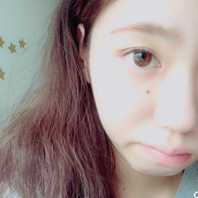 渡辺美優紀(みるきー)風メイクのBefore画像