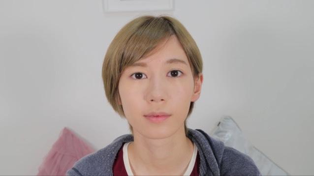 プチプラ♡秋の最新オルチャンメイクのBefore画像