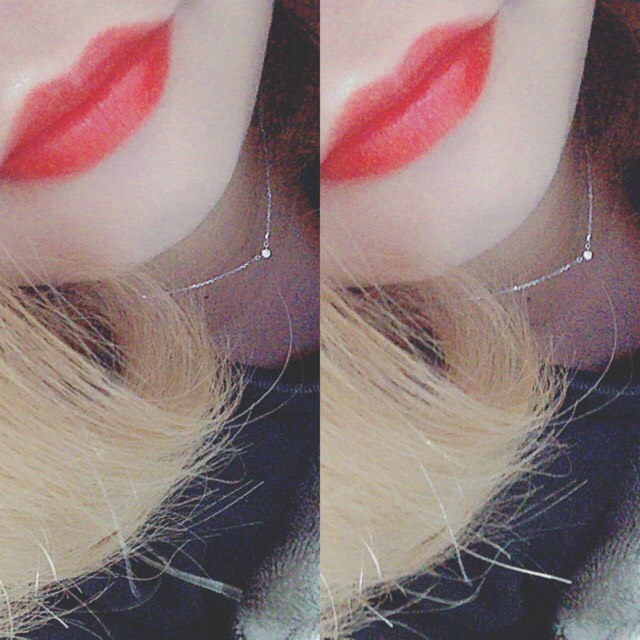 > red lip makeup <のAfter画像