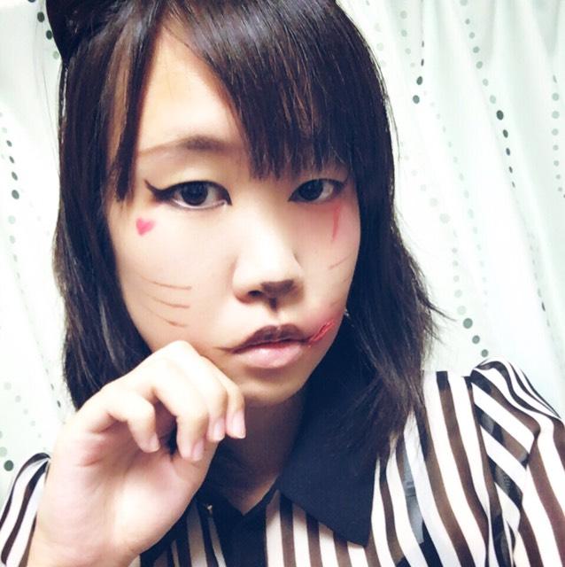 ハロウィン猫メイク♡のAfter画像