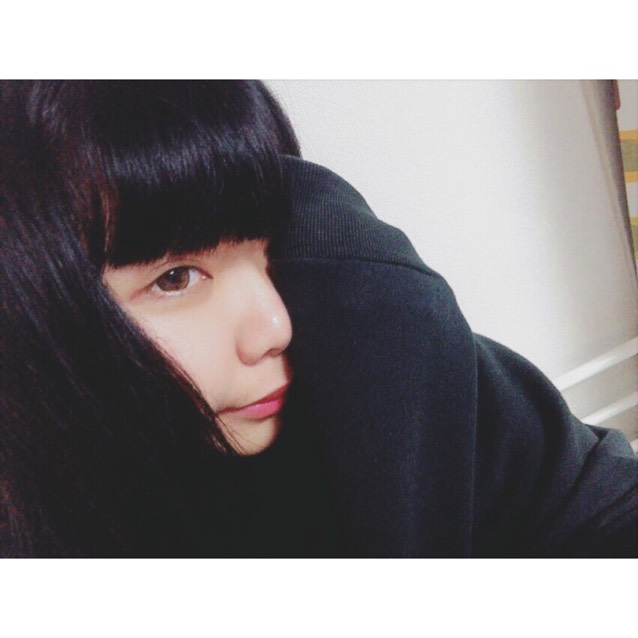 > black hair makeup <のBefore画像