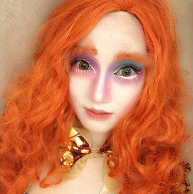 女性版マッドハッターメイクのAfter画像