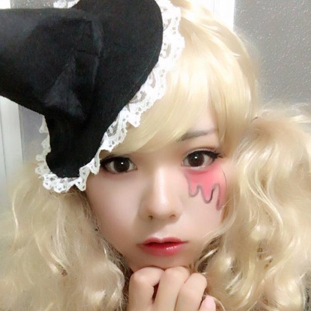 怖くないハロウィン魔女メイクのAfter画像