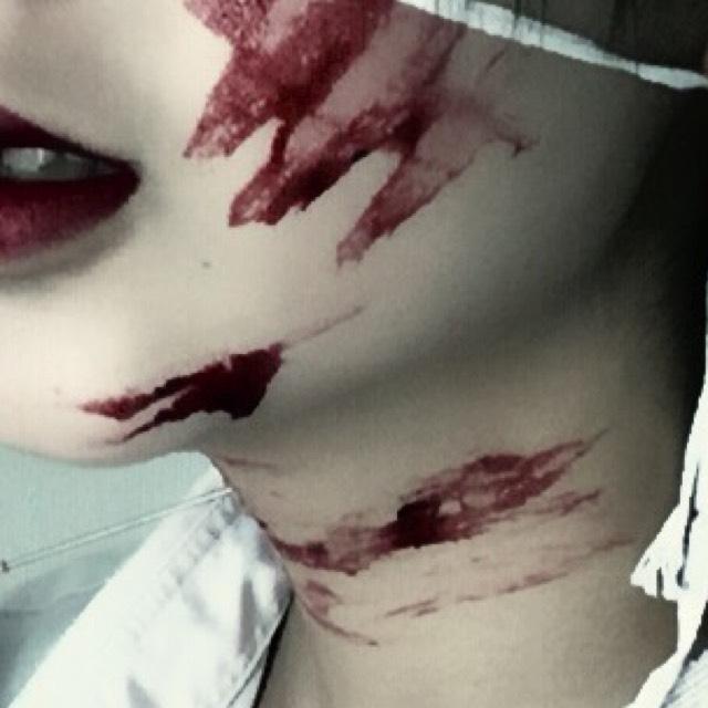 ハロウィン/血糊の作り方のAfter画像