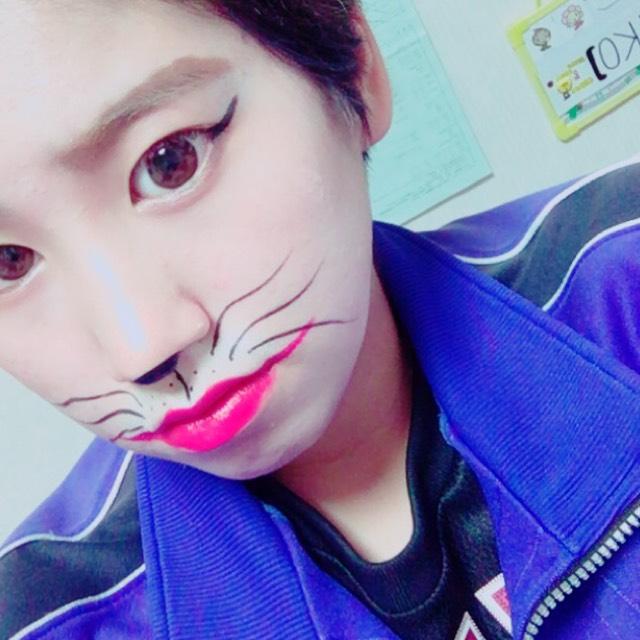 ハロウィンメイク(猫メイク)のAfter画像