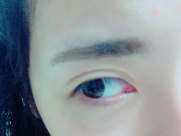 眉ティントのAfter画像