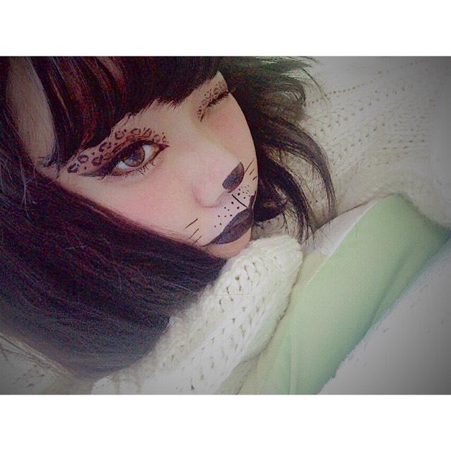 > cat makeup <