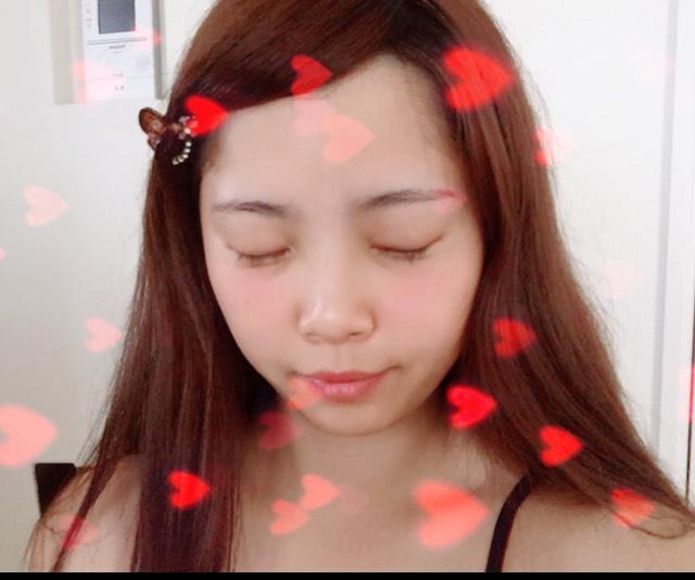 綺麗系秋メイクのBefore画像