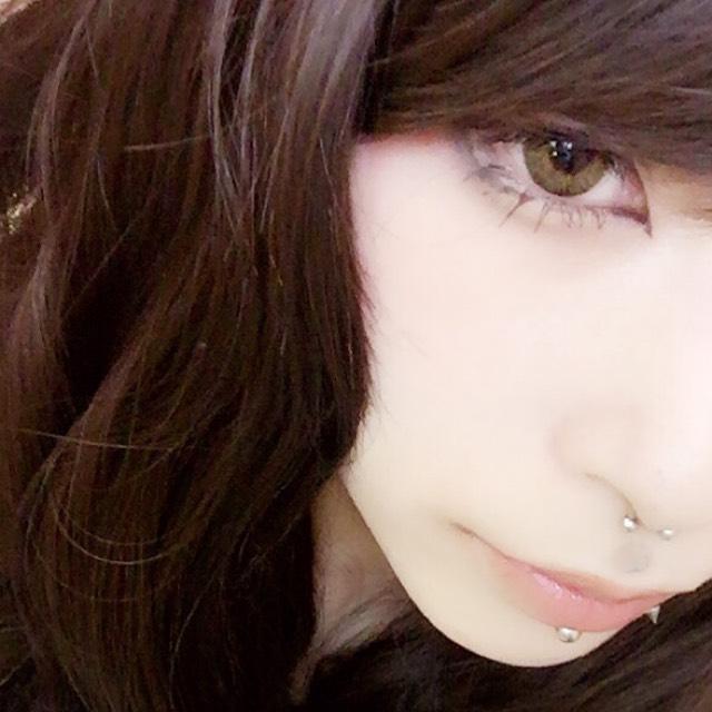 xxxHOLiC郁子さん風メイクのBefore画像