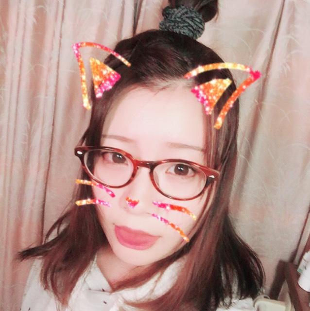 メガネメイク×ヘアアレンジのAfter画像