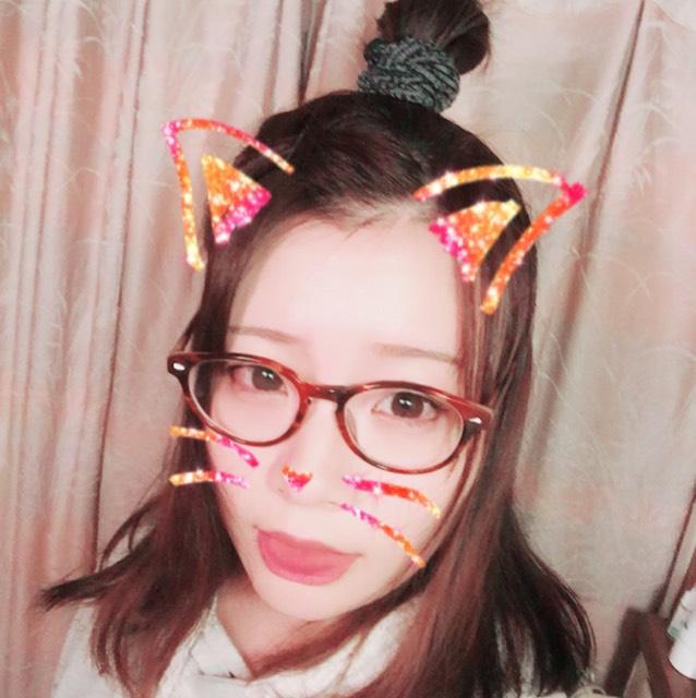 メガネメイク×ヘアアレンジ