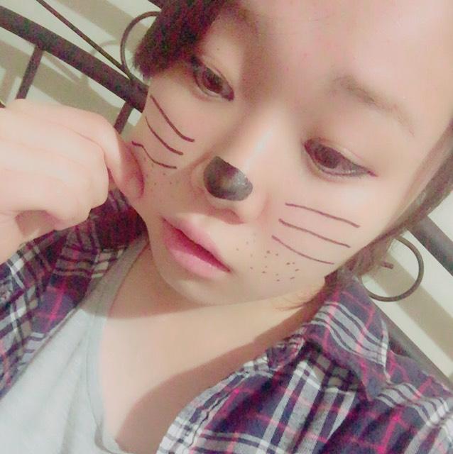 ハロウィン猫のAfter画像