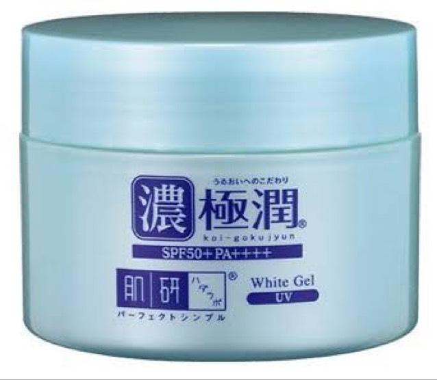 お風呂から出てすぐに、顔の保湿タイム  保湿 ←これを顔全体に塗る