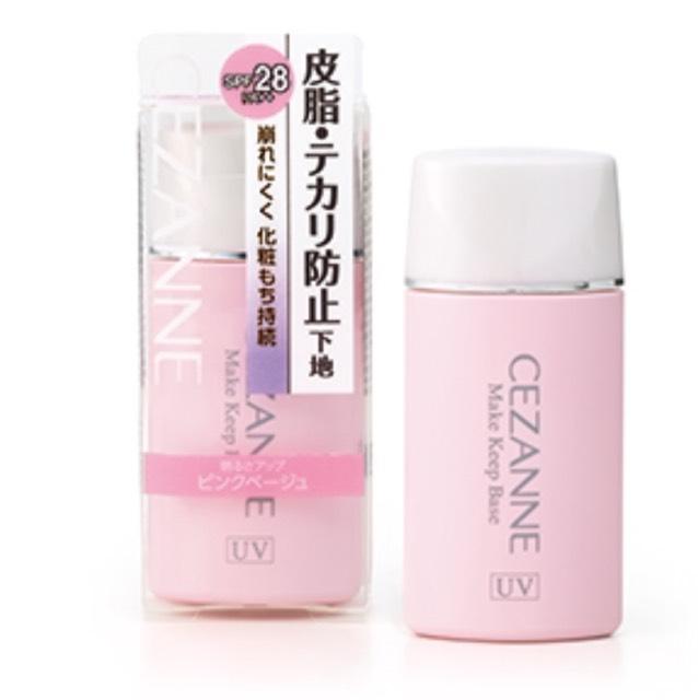 崩れにくく、ピンク色の下地なので肌をぱっと明るく見せてくれる化粧下地です。