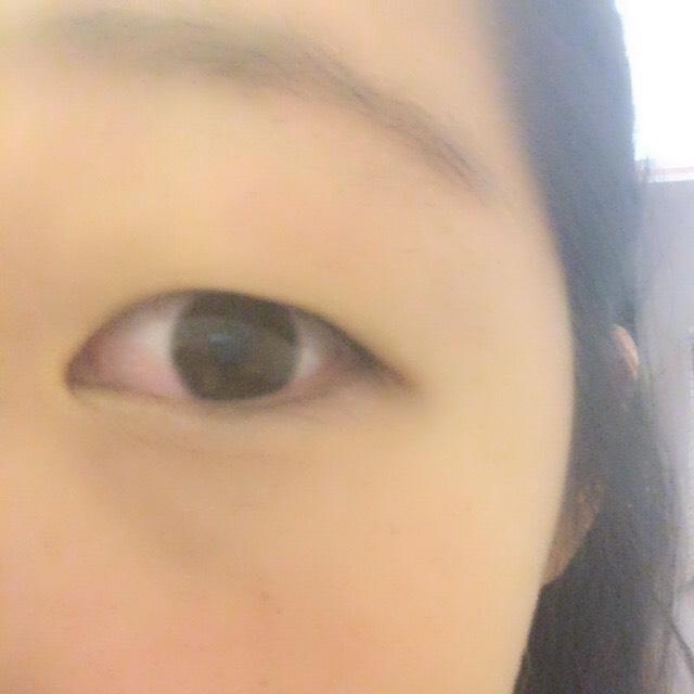 裸眼オルチャンメイクのBefore画像