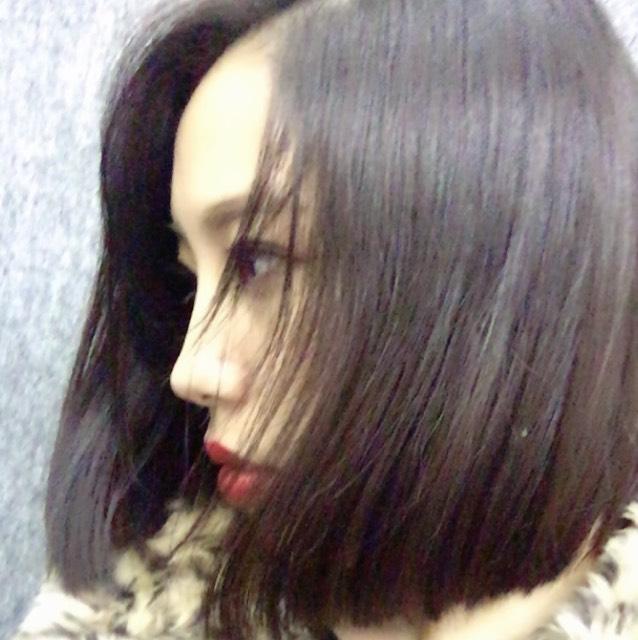 前髪作ったのBefore画像