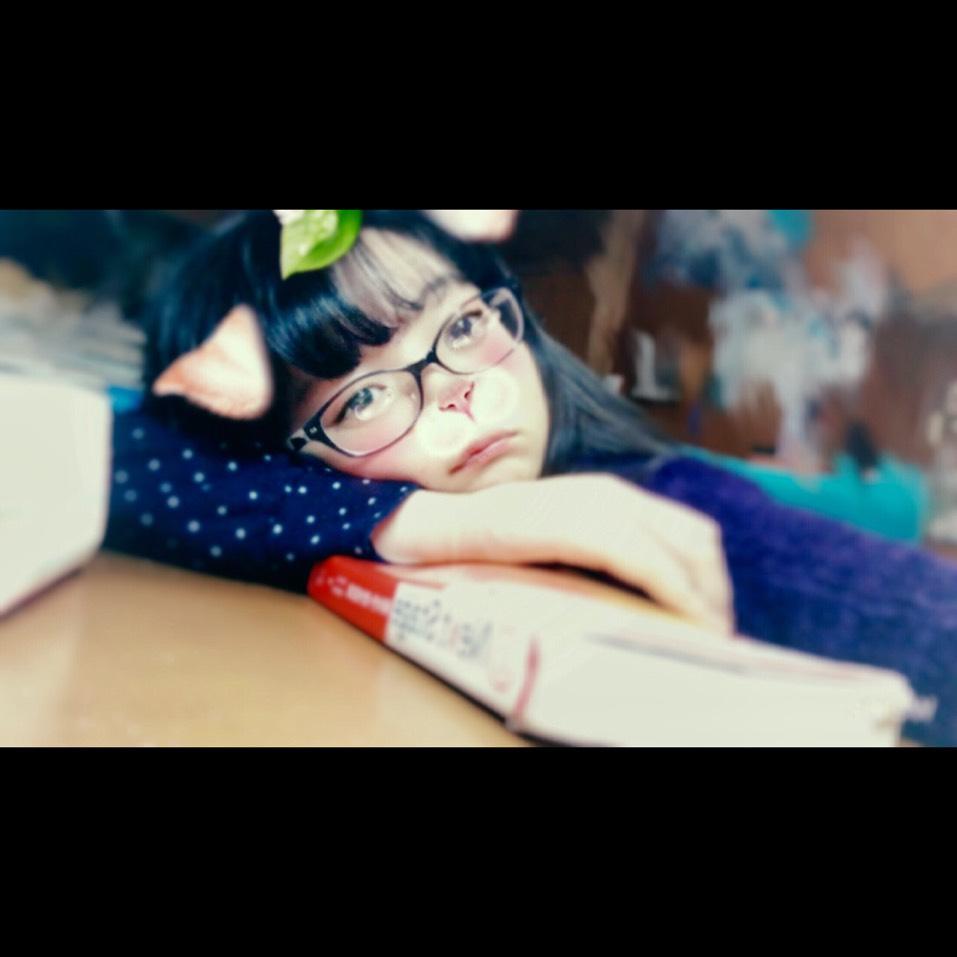 学校メイク すっぴん風のBefore画像