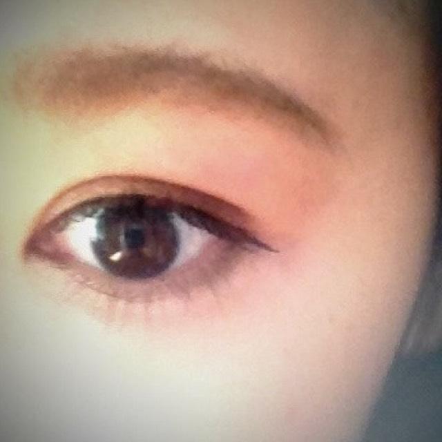 裸眼の目です!