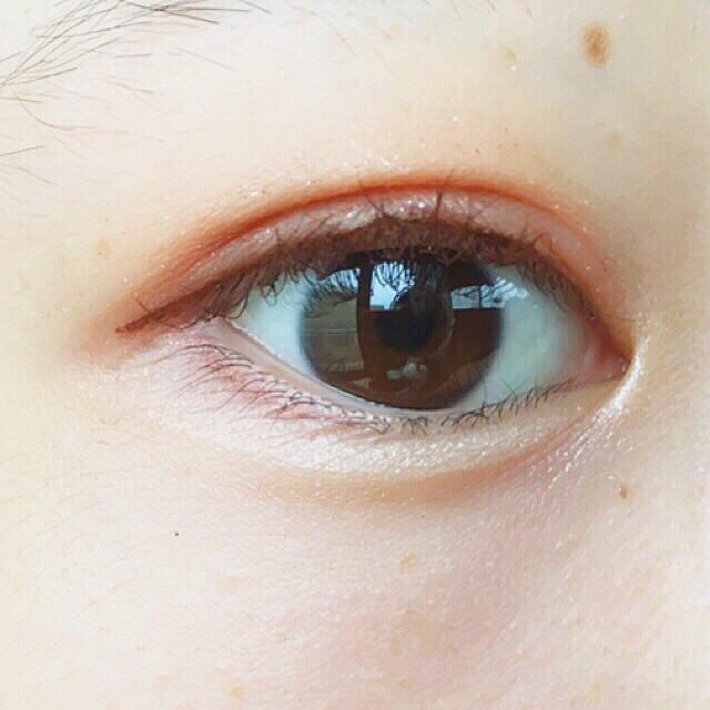 ナチュラルオレンジメイクのAfter画像
