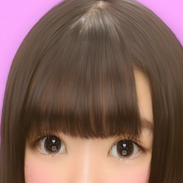 薄茶コン 14.2 眼科のコンタクト。 マスカラ、涙袋、ブラウンアイライン