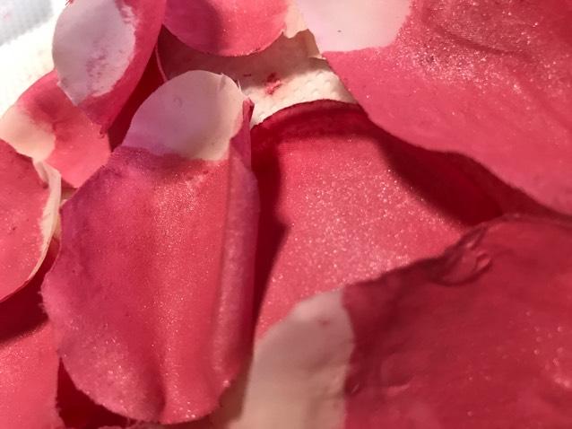 DIY♡花びらチークのAfter画像