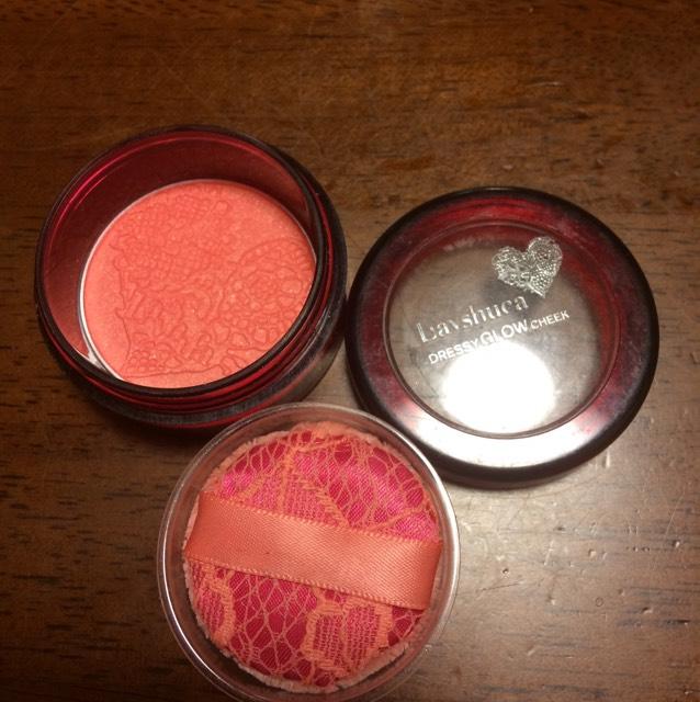 チークは、 ピンク色を!!