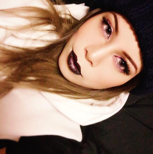 今日は薄化粧♡のBefore画像