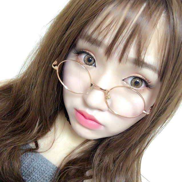 韓国風オレンジデートメイク♡のAfter画像
