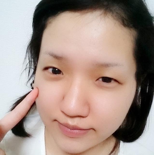 韓国風オレンジデートメイク♡のBefore画像