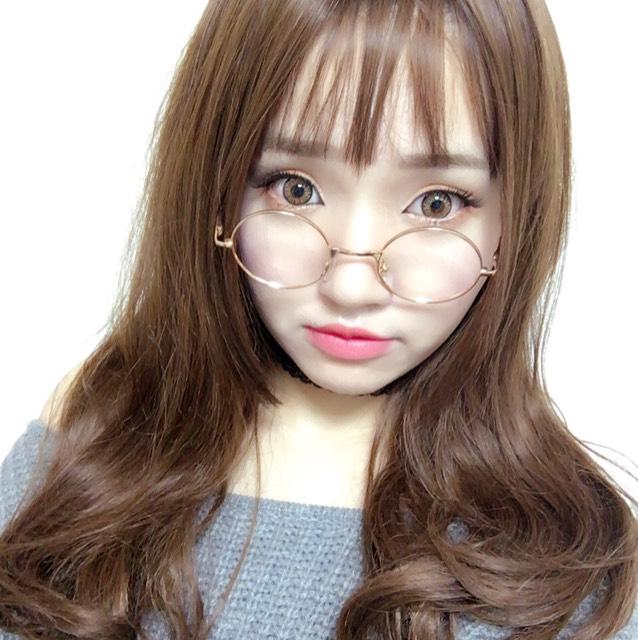 韓国風オレンジデートメイク♡