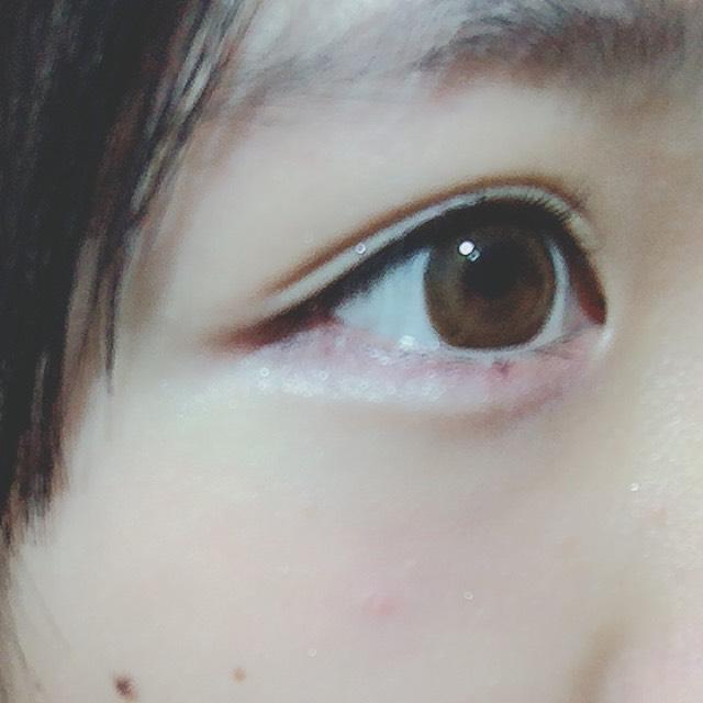 うさぎ目メイクのAfter画像