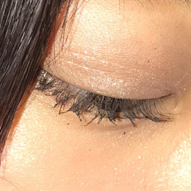 マスカラでまつ毛ふさふさのAfter画像