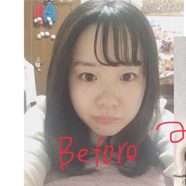自撮り大会で自分だけ可愛く撮れる方法_(:3」∠)_のBefore画像