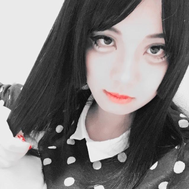 chiiiiiさん風デカ目メイクのAfter画像