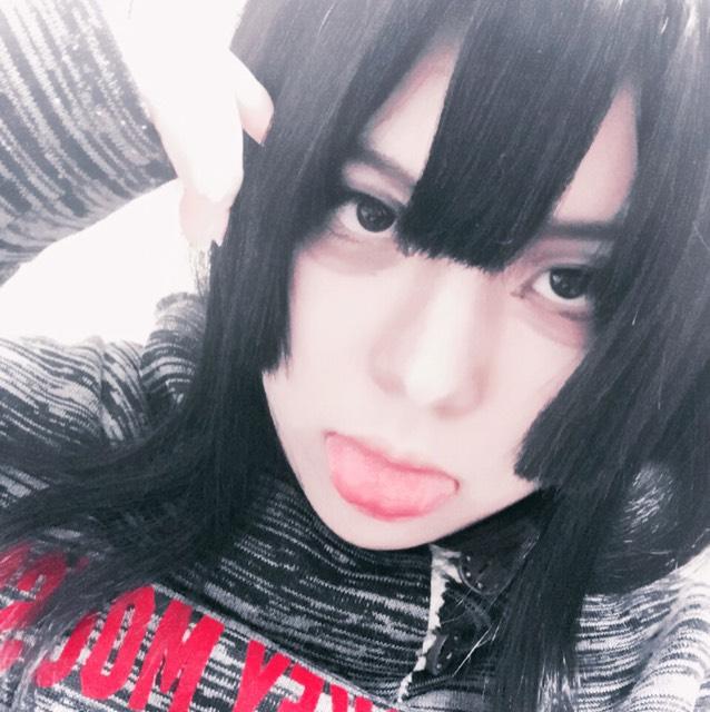 chiiiiiさん風デカ目メイクのBefore画像