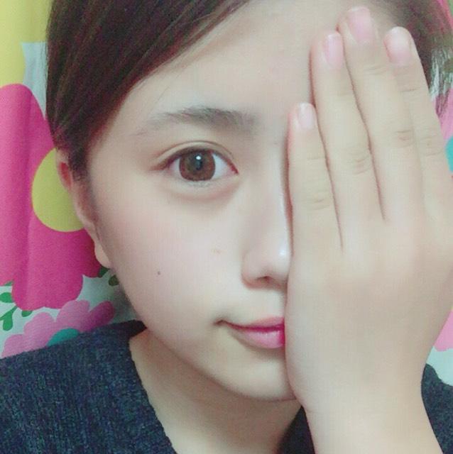 ♡半顔めいく♡のBefore画像