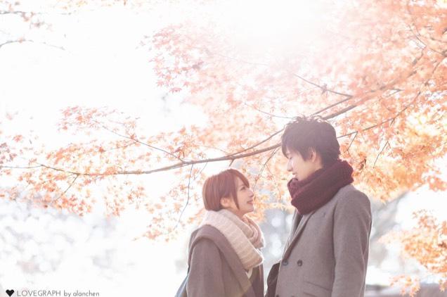雪×紅葉のAfter画像
