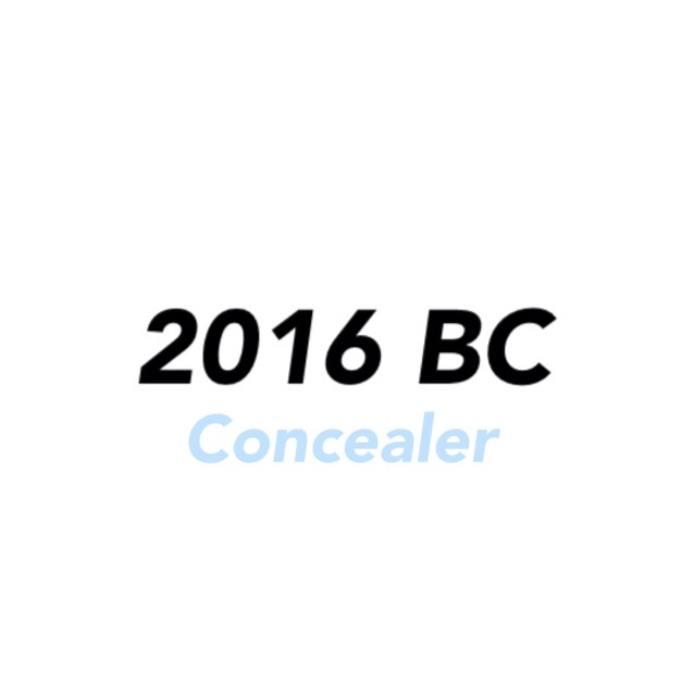 2016 Best cosme [Concealer]