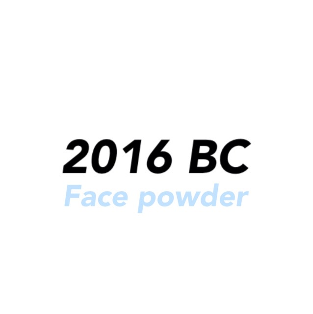 2016 Best cosme [Face powder]