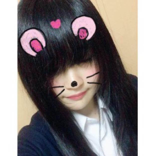 ふんわり アイドル風前髪♡のBefore画像