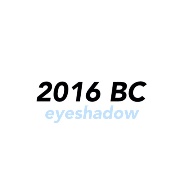 2016 Best cosme [eye shadow]