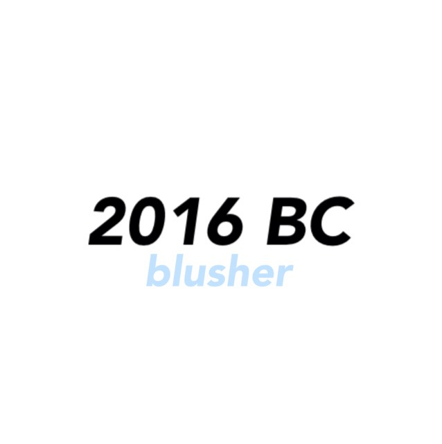 2016 Best cosme [blusher]